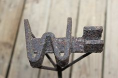 our cattle brand '=W', the Double Bar W, my dad made