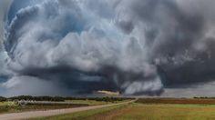 Thunderstorm With Rotating Wall Cloud by dburdeny with treesfieldskyforestsunsetnaturetravelcloudscloudscaperaintreeroadsummerbushgrasshorizonusaskylinecountrysidesundownpastureweatherstormthunderstormamericacountryfarmgrasslandfarmingfarmland
