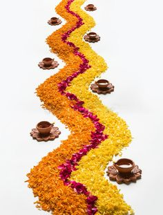 Beautiful Flower Rangoli Or Decoration With Clay Lamp For Diwali Or Any Indian Festival Stock Image - Image of decorated, decorative: 98212939 Rangoli Designs Flower, Rangoli Border Designs, Colorful Rangoli Designs, Rangoli Designs Diwali, Rangoli Designs Images, Flower Rangoli, Flower Designs, Diwali Decoration Lights, Diwali Decorations At Home