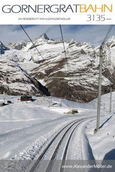 Gornergratbahn | Gornergrat | Matterhorn | Berge | Schweiz - Wie versprochen gibt es hier einen extra Bericht mit vielen Bildern von meiner Reise auf den Gornergrat mit der Gornergratbahn. Die Strecke beginnt in Zermatt neben dem Bahnhof der Matterhorn-Gotthard-Bahn auf 1604 m über Meer und führt mit einer maximalen Steigung von 20 % auf einer Länge von etwa 9 km hinauf auf den Gornergrat auf 3089 m über Meer. Zermatt, Bahn, Travel, Outdoor, Europe, Switzerland Destinations, Ski Resorts, Virgo, Hiking Trails