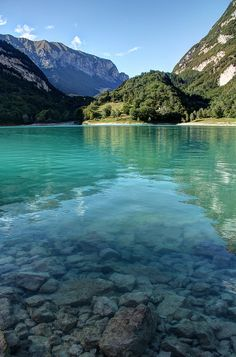 Lago di Tenno, Italy by ludwig.micallef, via Flickr