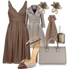 Little Brown Dress, created by cynthia335