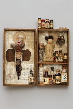 Pharmacy Box by Mar Goman. Everything you need to get through those tough moments. Even a bottle of arsenic to lace the tea of those who are MAKING your moments so damn tough! LOL