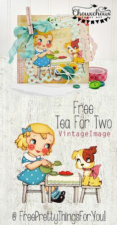 free-cute-vintage-image-tea-for-two