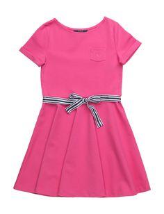Ponte Fit-and-flare Dress (Desert Pink) (89 €) - Ralph Lauren Kids   Boozt.com