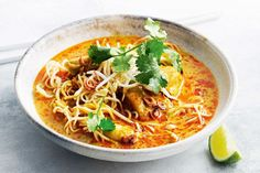 Northern Thai Chicken and Noodle Curry ~ www.taste.com.au
