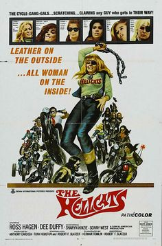 The Hellcats - Hell on Wheels: Vintage outlaw biker movie posters