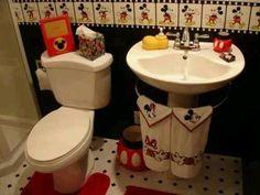 mickey restroom