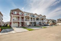 Life in Harbour Landing is a new townhome community located in Regina's beautiful Harbour Landing Townhouse, Landing, Mansions, House Styles, Life, Beautiful, Home Decor, Decoration Home, Terraced House