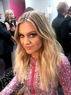 See How Kelsea Ballerini Pulled Off 4 ACM Awards Hair and Makeup Changes in Her Exclusive Photo Diary! American Country Music Awards, Kelsea Ballerini, Selena Quintanilla, Blues Music, Photo Diary, Her Music, Beautiful Celebrities, Hair Looks, My Idol