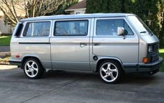 1987 Volkswagen VW Vanagon. Life is less stressful driving a VW!