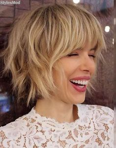 448 Best Short Choppy Hairstyles Images In 2019
