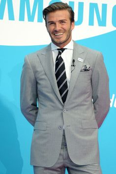 David Beckham > See Becks on the pitch at American soccer club LA Galaxy. Now that's worth watching football for.