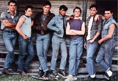 Tom Cruise The Outsiders Movie Wallpapers. Tom Cruise The Outsiders Movie Poster. Tom Cruise The Outsiders Movie Wallpapers. Tom Cruise T. The Outsiders Greasers, The Outsiders 1983, The Greasers, The Outsiders Quiz, Die Outsider, Boy Bands, Dallas Winston, Emilio Estevez, Image Film