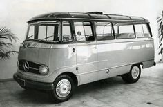 Wish I could buy one of these. 1955 Mercedes sprinter van.