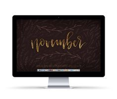 Freebie: November 2016 Desktop Wallpapers