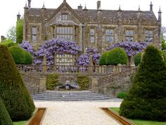 Parnham House, an Elizabethan manor house, Netherbury, Dorset, - English Country Manor, English Manor Houses, English House, English Countryside, English Estates, Fachada Colonial, Town And Country, Country Houses, Grand Homes