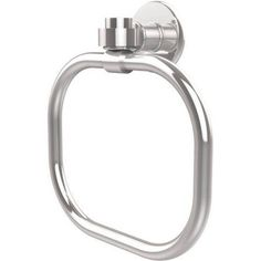 Continental Collection Towel Ring, Silver