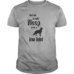 Feel Safe At Night Sleep With A German Shepherd