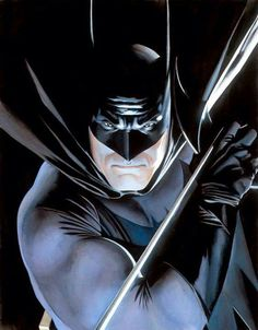 Alex Ross Batman - hail Alex he's so damn good at his craft