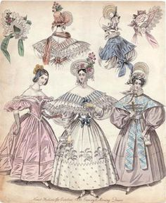 1833 fashion plate - 1830s in Western fashion - Wikipedia, the free encyclopedia