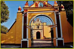 ´Parroquia San Antonio Cacalotepec,San Andrés Cholula,Estado de Puebla,México