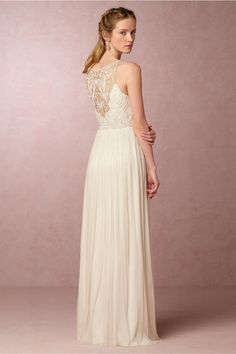 BHLDN Lucia Gown in  Bride Wedding Dresses at BHLDN