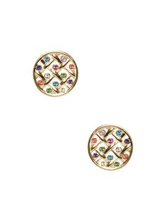 Caining Stud Earrings by kate spade new york at Gilt