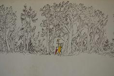 DER WOLF und die SIEBEN GEISSLEIN. From Felix Hoffmann. Verlag H.R. Sauerlandere & Co. Aarau / Frankfurt. Printed in Swizerland. 1957