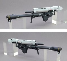 Gundam Custom Build, Gunpla Custom, Weapon Concept Art, Fantasy Weapons, Robot Art, Gundam Model, Airsoft, Sci Fi, Guns