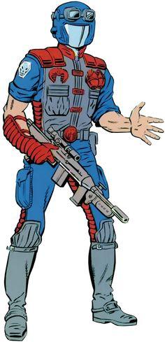 Cobra Viper from the old Marvel handbooks. From http://www.writeups.org/cobra-viper-gi-joe/