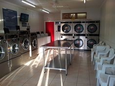 Don't you just love clean laundromats with working modern equipment! #Laundromats #Indooroopillylaundromat #ExpressDexter