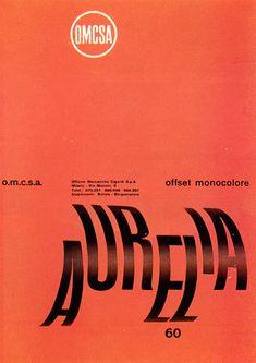 Aldo Calabresi, Studio Boggeri — OMCSA (1957)
