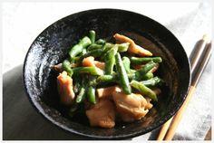 インゲン豆と鶏の炒め煮の作り方 | nanapi [ナナピ]