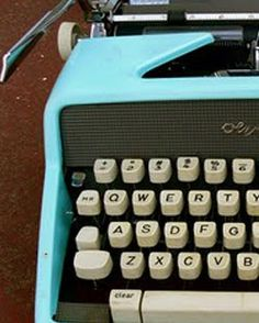 the sound of typing on an old Royal