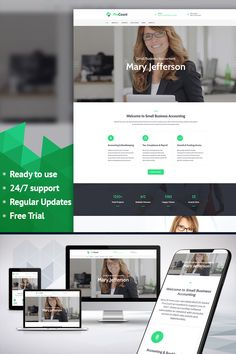 Consulting Responsive Moto CMS 3 Template #65091