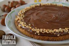 CROSTATA ALLE NOCCIOLE fragolaelettrica.com Le ricette di Ennio Zaccariello #Ricetta