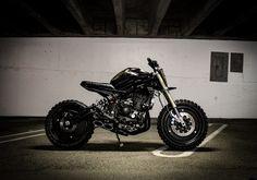 The Post-Apocalyptic Droog Moto Kawasaki Ninja - Moto 12 Kawasaki 650r, Kawasaki Ninja, Ducati, Yamaha, Ninja Bike, Ninja 650r, Motorcycle Companies, Kawasaki Motorcycles, Super Bikes