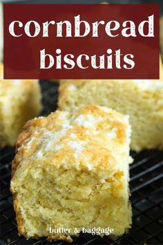 Cornbread Biscuit Recipe, Skillet Cornbread, Buttery Biscuits, Buttermilk Biscuits, Quiche Recipes, Bread Recipes, Whole30 Recipes Lunch, Angle Food Cake Recipes, Quirky Cooking