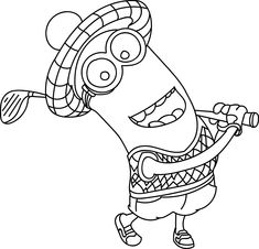 Minion is beatiful and very cute characters. You can find here Minions coloring pages. Visit my site and have fun!