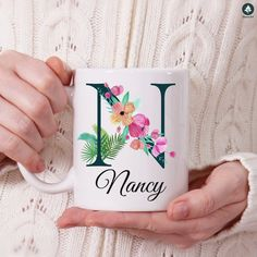 Birthday Gifts For Sister, Sister Gifts, Valentine Day Gifts, Gifts For Mom, Christmas Gifts, Valentines, Personalised Name Mugs, Personalized Gifts For Her, Name Gifts