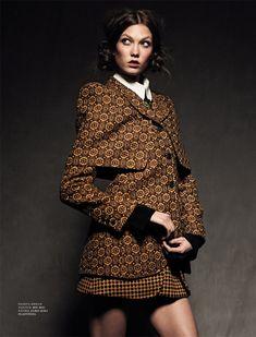 <3 Harper's Bazaar Russia September 2012 | Anglomania | Karlie Kloss | by Natalia Alaverdian