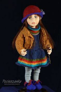 Rozalka 22 OOAK rag doll by Pocieszanka on Etsy, $620.00