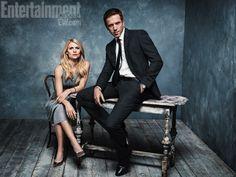 Claire Danes & Damian Lewis, 'Homeland' ~ Photographed by Alexei Hay ~ Fall TV 2012: EW Portraits #ewportraits