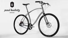 Paul Budnitz Bicycles Série Titanium.
