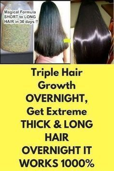 Triple Hair Growth Overnight – My Tips HealthThis formula will strengthen your hair and your grow hair will grow upto 4 inches in just 30 days. To prepare this treatment you will needHair Growth Overnight By Using Home RemediesThis equation will re Coconut Oil Hair Treatment, Coconut Oil Hair Growth, Coconut Oil Hair Mask, Hair Remedies For Growth, Hair Growth Treatment, Hair Loss Remedies, Long Hair Remedies, Hair Thickening Remedies, Extreme Hair Growth