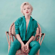 Marylin Monroe 1954  Photo by Milton Greene