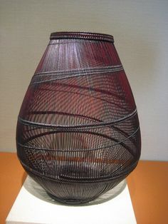 Contemporary Japanese handmade basket