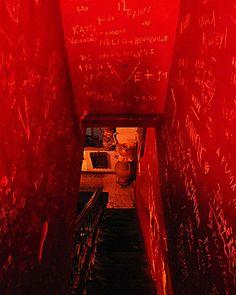 Red Stairway  by Santalux76