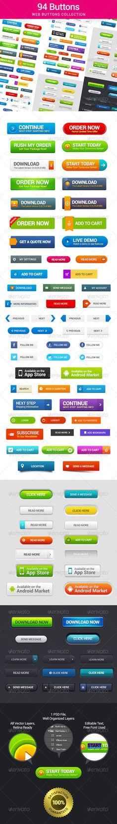 94 Web Buttons